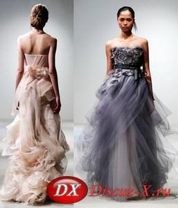 Выбор цвета для свадебного платья