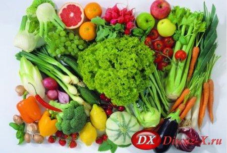 Влияние цвета овощей на человека