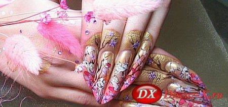 Варианты дизайна ногтей