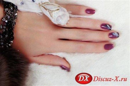 Рисунок на ногтях — Просто и изящно